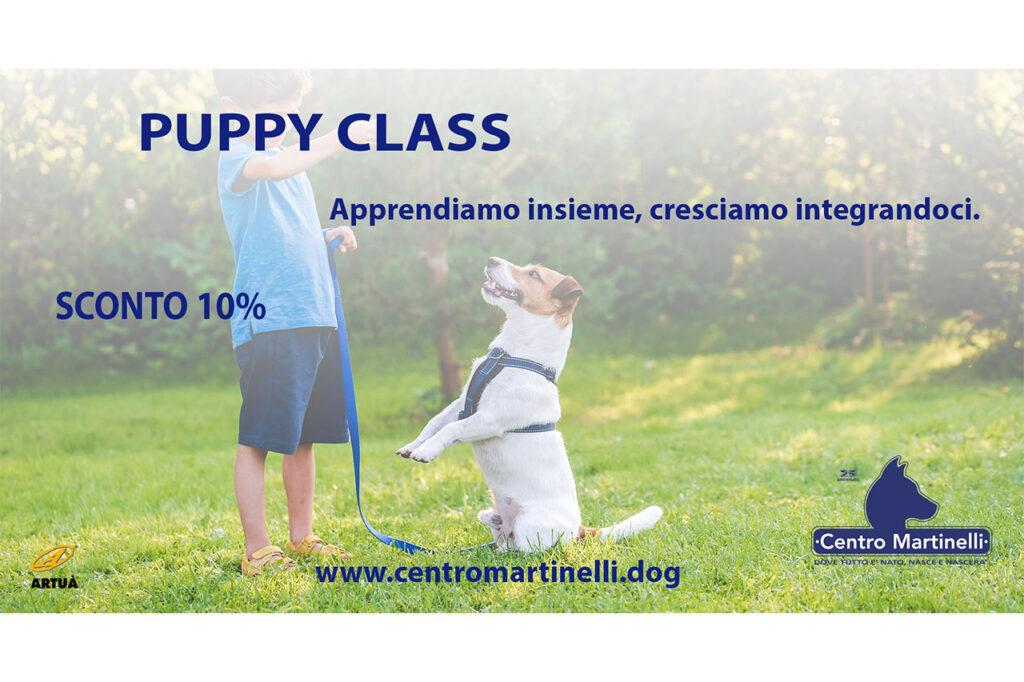PUPPY CLASS PROMO