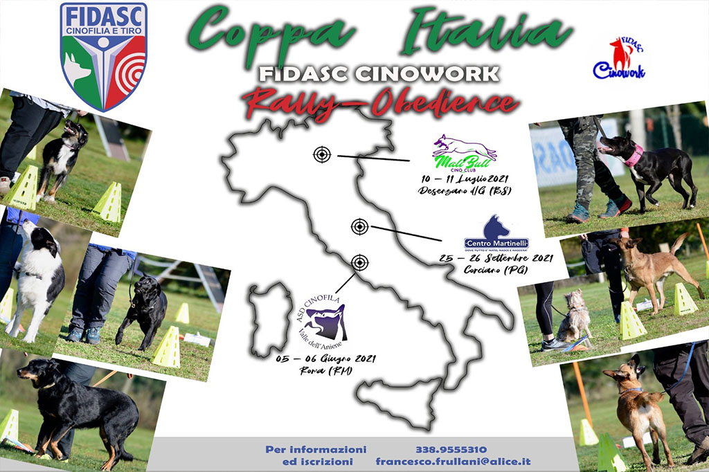 COPPA ITALIA DI RALLY OBEDIENCE